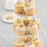 Vanilla Easter Cup Cakes